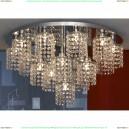 LSJ-0407-16 Люстра потолочная Lussole Monteleto, 16 ламп, хром