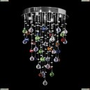 Tesoro H 1.4.35.113 N Каскадная хрустальная люстра Dio D`arte (Дио Дарте), Elite, Tesoro Nickel