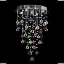 Tesoro H 1.4.35.213 N Каскадная хрустальная люстра Dio D`arte (Дио Дарте), Asfour, Tesoro Nickel