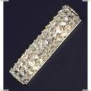 LSL-8701-02 Светильник настенно-потолочный Lussole Stintino, 2 лампы, хром, прозрачный хрусталь