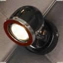 LSN-3121-01 Спот Lussole Tivoli, 1 плафон, хром с черным