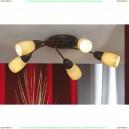 LSQ-6917-05 Люстра потолочная Lussole Cevedale 5 плафонов